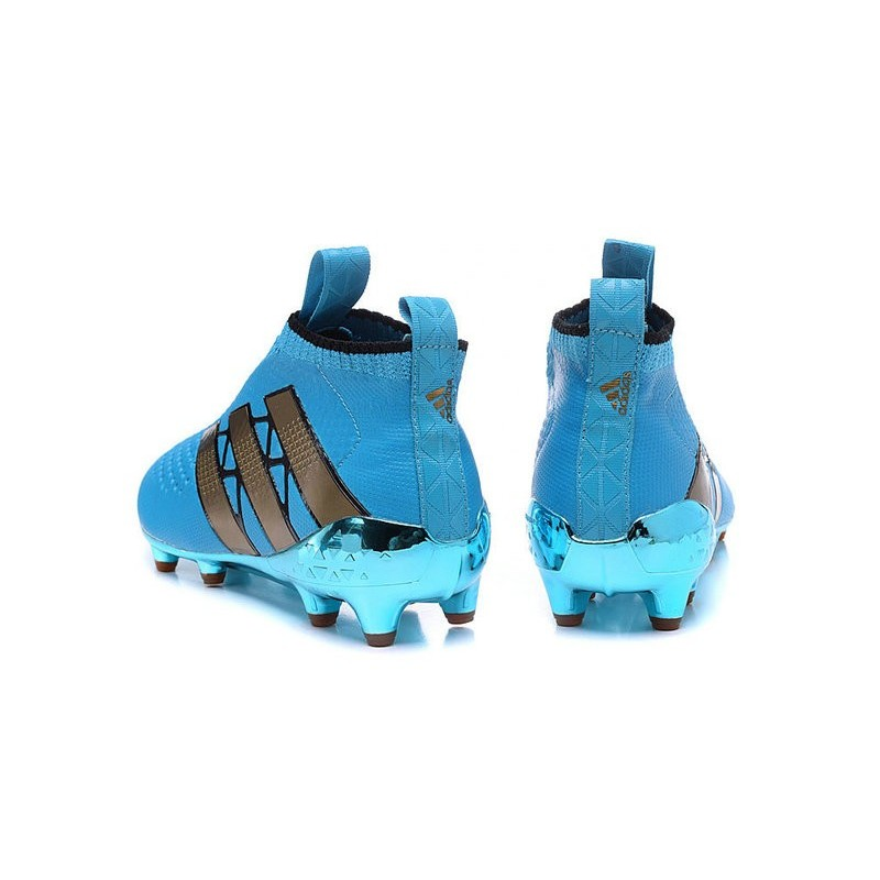77a24abc5 ... shopping new 2016 mens adidas ace 16 purecontrol fg soccer cleats blue  gold 49523 6bbf3