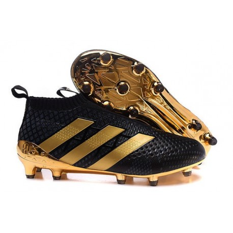 huge discount 41b9a 5924a New 2016 Paul Pogba adidas ACE 16+ Purecontrol FG Soccer Cleats Black Golden