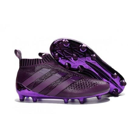 adidas ACE 16+ Pure Control FG Top Football Boots Deep Purple c7f17b069f2f