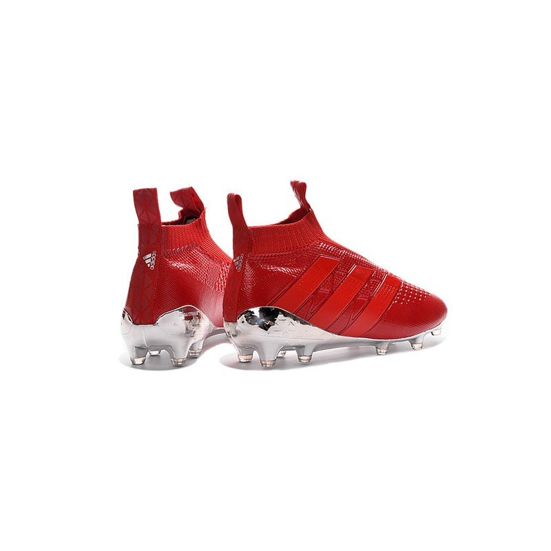adidas ace 16 rosse