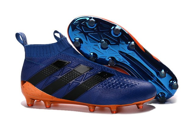 detailed look 59bcc bc2ce adidas ACE 16+ Pure Control FG Top Football Boots Blue ...