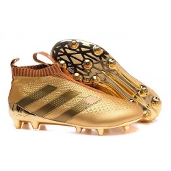 adidas ACE 16+ Pure Control FG Top Football Boots In Gold