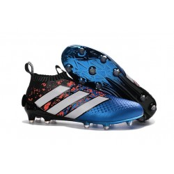 adidas Paris Pack ACE 16+ Pure Control FG Top Football Boots Blue Black