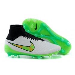 Nike Magista Obra FG ACC Men's Firm Ground Football Boots White Green