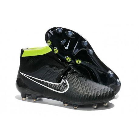 Nike Magista Obra FG ACC Men's Firm Ground Football Boots Black White