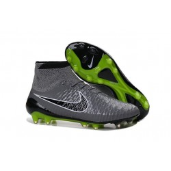 Nike Magista Obra FG ACC Men's Firm Ground Football Boots Grey Black