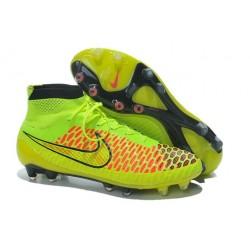 Nike Magista Obra FG ACC Men's Firm Ground Football Boots Volt Gold Hyper Punch