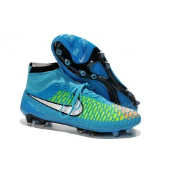 Nike Magista Obra FG ACC Men's Firm Ground Football Boots Blue White
