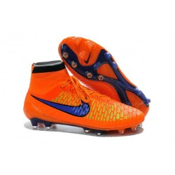 Nike Magista Obra FG ACC Men's Firm Ground Football Boots Orange Violet