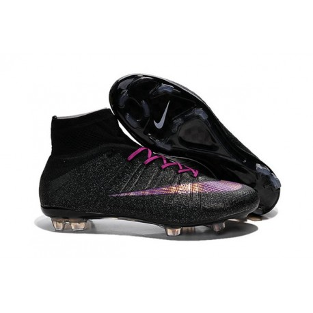 best service afea8 a7277 Cristiano Ronaldo Nike Mercurial Superfly 4 FG Football Boots Black Purple
