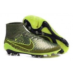 New Mens Nike Magista Obra FG Football Shoes Power Clash Green