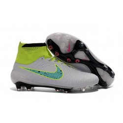 New Mens Nike Magista Obra FG Football Shoes White Green