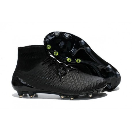 New Mens Nike Magista Obra FG Football Shoes All Black