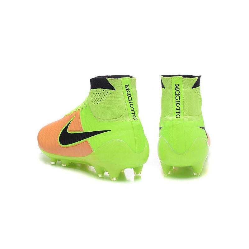 Youth Nike Jr Magista Obra 2 II FG Soccer Cleats White Volt