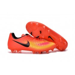 Nike Magista Opus II FG 2016 New Mens Soccer Cleats Orange Yellow Black
