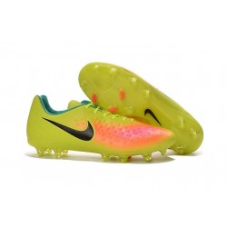 Nike Magista Opus II FG 2016 New Mens Soccer Cleats Volt Pink Black