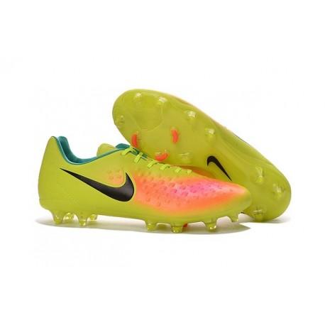 Nike Magista Opus II FG 2016 New Mens Soccer Cleats Volt Pink Black