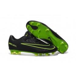 New 2016 Nike Mercurial Vapor XI FG ACC Soccer Boots Black Green