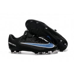 New 2016 Nike Mercurial Vapor XI FG ACC Soccer Boots in Black Blue