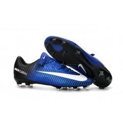 Nike Mercurial Vapor 11 FG Men Football Cleat Blue White