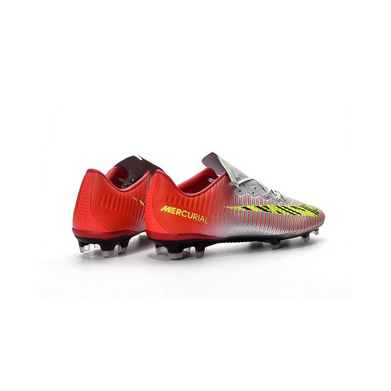 buy online 9e156 522f7 ... best nike mercurial vapor 11 fg men football cleat silver red yellow  maximize. previous. ...
