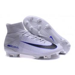 Nike Mercurial Superfly 5 FG Cristiano Ronaldo Boots White Black
