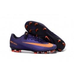 Nike Mercurial Vapor 11 FG Men Football Cleat Purple Orange