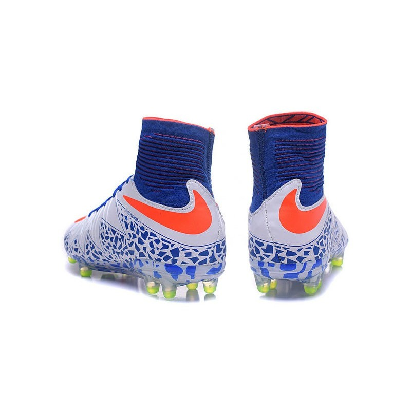 new york c5f84 e0656 New 2016 Nike Hypervenom Phantom II FG ACC Neymar Cleat White Blue Red  Maximize. Previous. Next