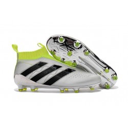adidas ACE 16+ Purecontrol FG News 2016 Soccer Boot Silver Black Yellow