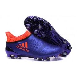 adidas X 16+ Purechaos FG News 2016 Soccer Shoes Purple Orange