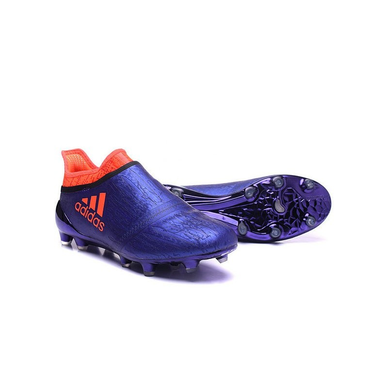 new concept e8d5a abaa4 ... reduced adidas x 16 purechaos fg news 2016 soccer shoes purple orange  160bf a2d57
