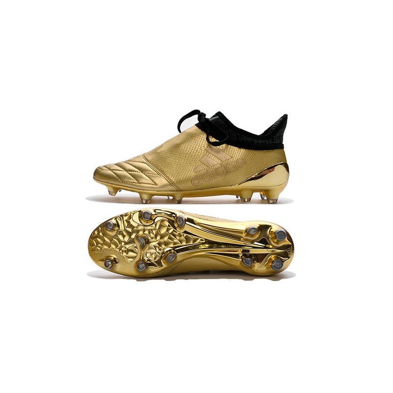 purchase cheap eb39c d4514 adidas X 16+ Purechaos FG News 2016 Soccer Shoes in Golden