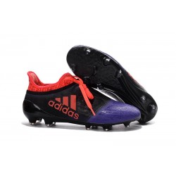 adidas X 16+ Purechaos FG News 2016 Soccer Shoes Black Purple Red