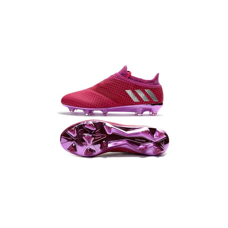 0fdf9558f2c adidas Messi 16+ Pureagility FG AG New Soccer Boots Red Silver