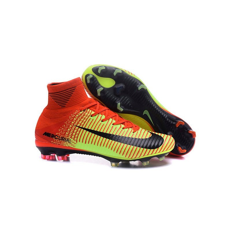 3ae7c3e0b New Top Nike Mercurial Superfly V FG Soccer Cleat Red Green Black Maximize.  Previous. Next. Cancel Display all pictures