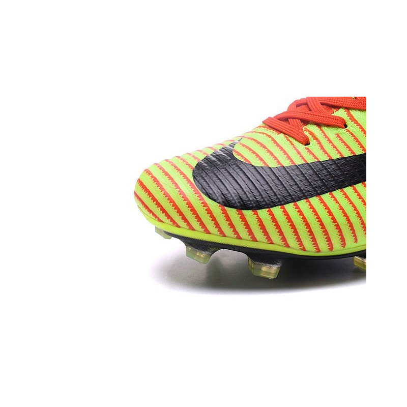 los angeles c0217 2cdfa New Top Nike Mercurial Superfly V FG Soccer Cleat Red Green Black