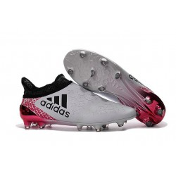 adidas X 16+ Purechaos FG News 2016 Soccer Shoes White Red Black