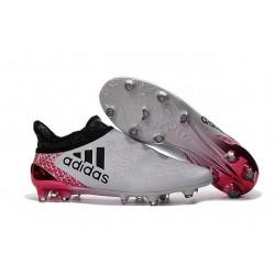 adidas X 16+ Purechaos FG News 2016 Soccer Shoes White Red Black