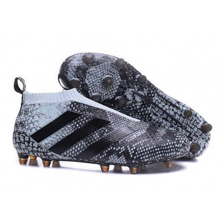 adidas ACE 16+ Purecontrol FG News 2016 Soccer Boot Vapour Black