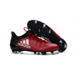 New 2016 adidas X 16.1 FG Firm Ground Soccer Boots Red Black White