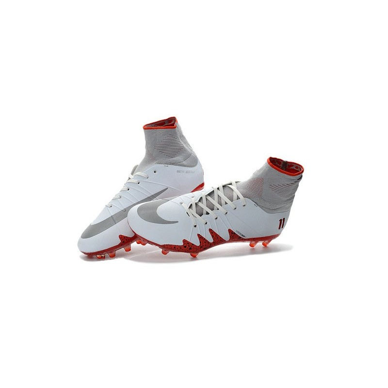 Nike Njr Hypervenom Phantom Ii Neymar X Jordan Cleats White Red