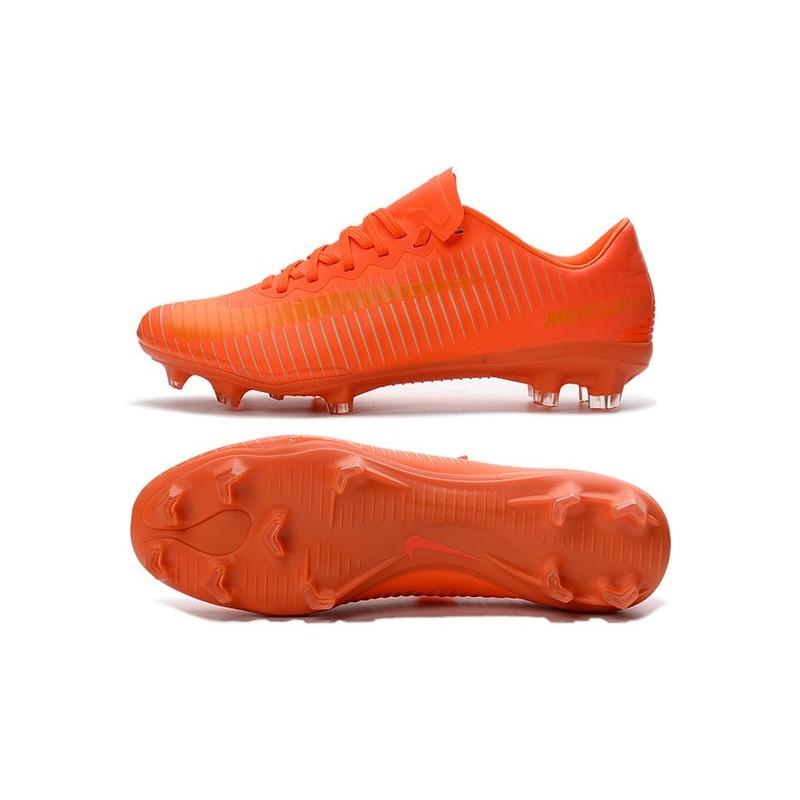 f8a553681c9b Nike Mercurial Vapor 11 FG Men Football Cleat All Orange