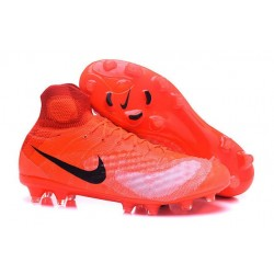 Nike Magista Obra II FG Firm Ground Soccer Boots Orange Black