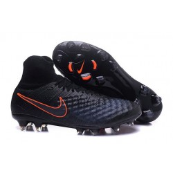 Nike Magista Obra II FG Firm Ground Soccer Boots Black Orange