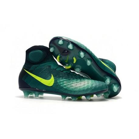 Nike Magista Obra II FG New Tops Football Cleat Green Volt