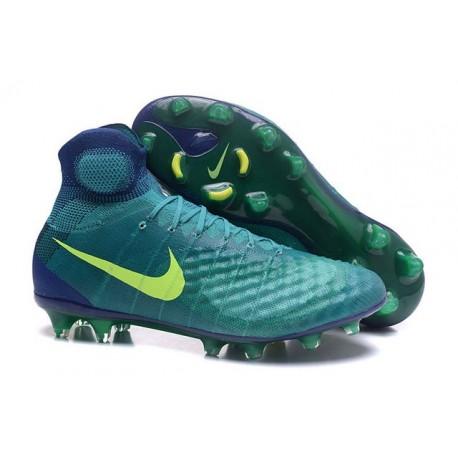 Nike Magista Obra II FG New Tops Football Cleat Jade Volt