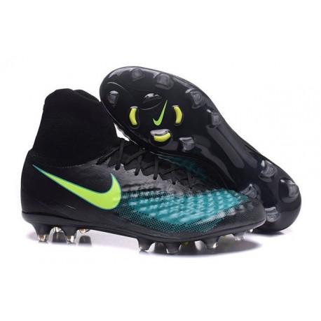 Nike Magista Obra 2 FG New Men's Soccer Boots Black Jade Volt