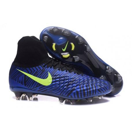 Nike Magista Obra 2 FG New Men's Soccer Boots Royal Blue Black