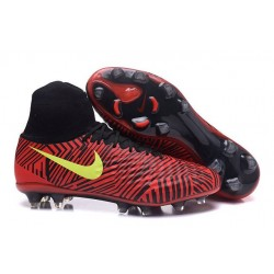 Nike Magista Obra 2 FG New Men's Soccer Boots Red Black Yellow