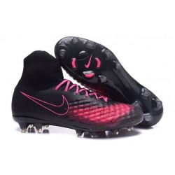 Nike Magista Obra 2 FG New Men's Soccer Boots Black Pink